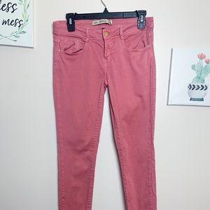 Zara Light Red Jeans